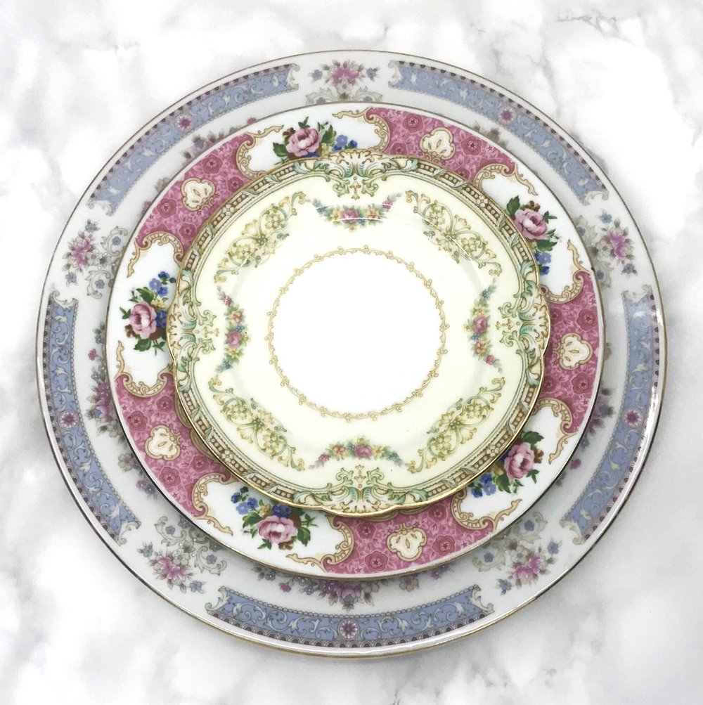 VINTAGE | Floral Collection China