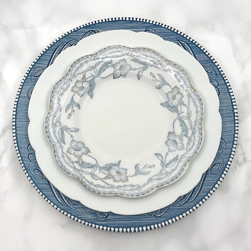 VINTAGE | Blue + White Collection China