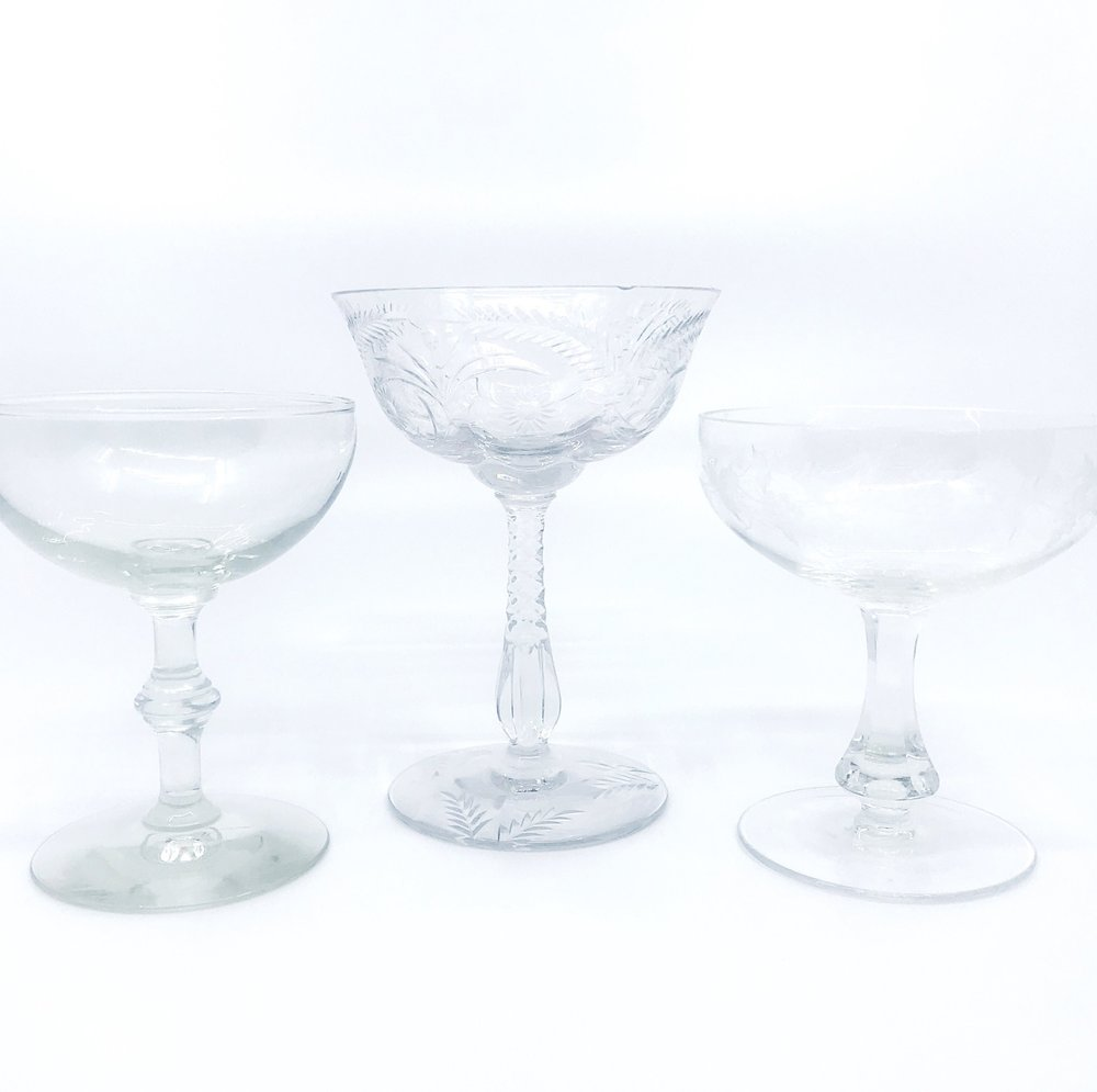 VINTAGE | Champagne Coupe Collection