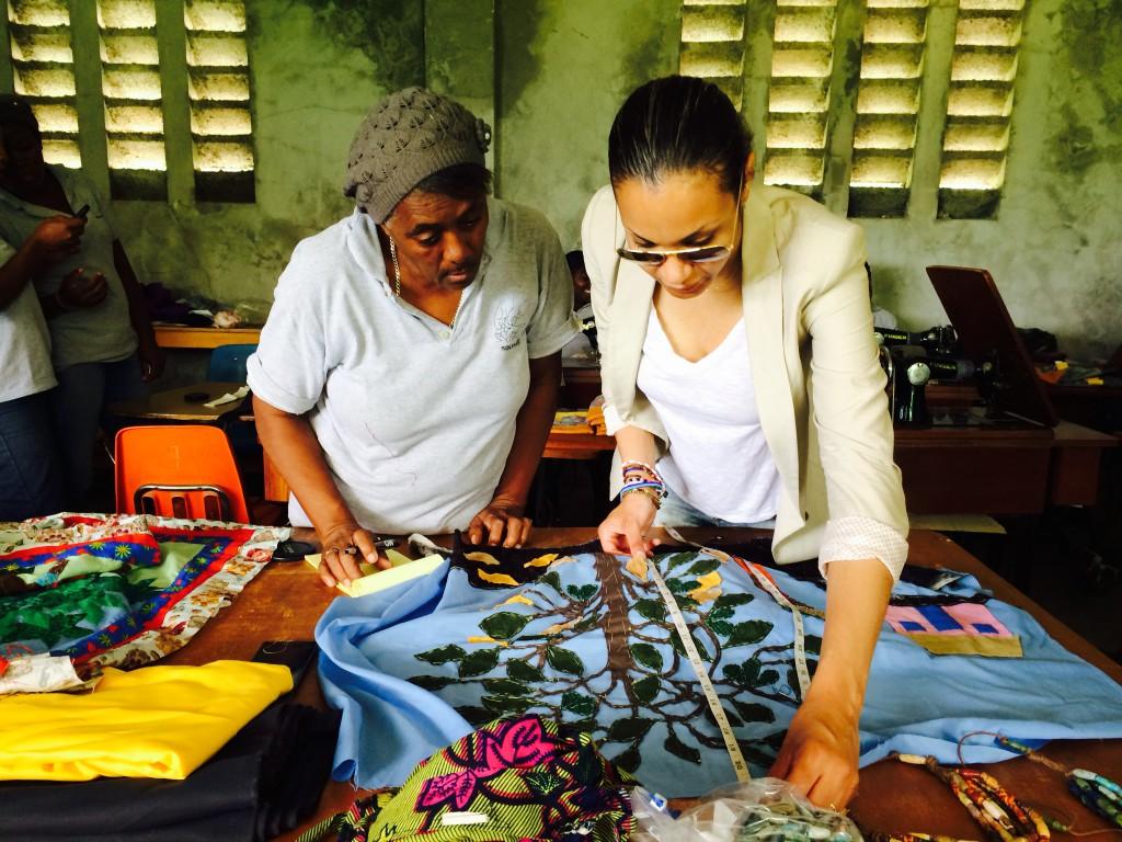 Stella Jean in Haiti 2