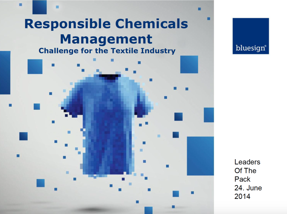 Responsible Chemical Management