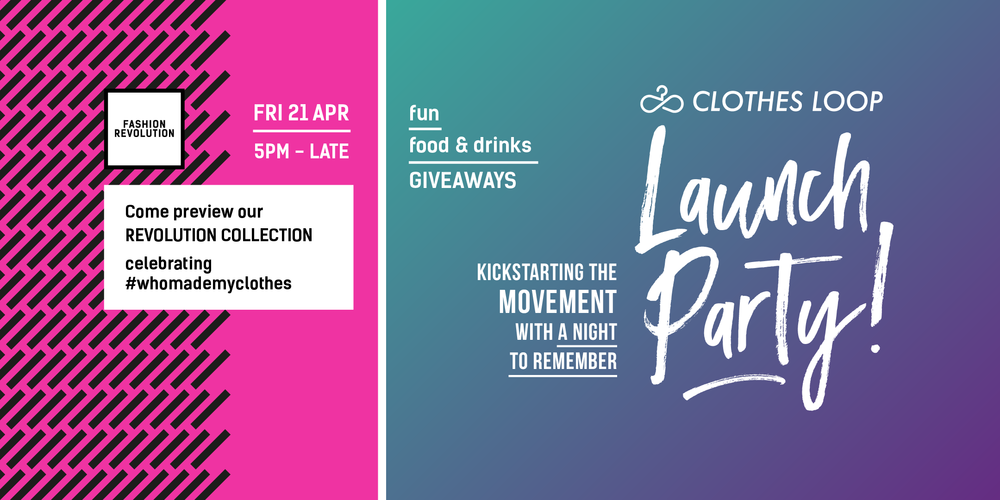 clothes loop launch fashion revolution