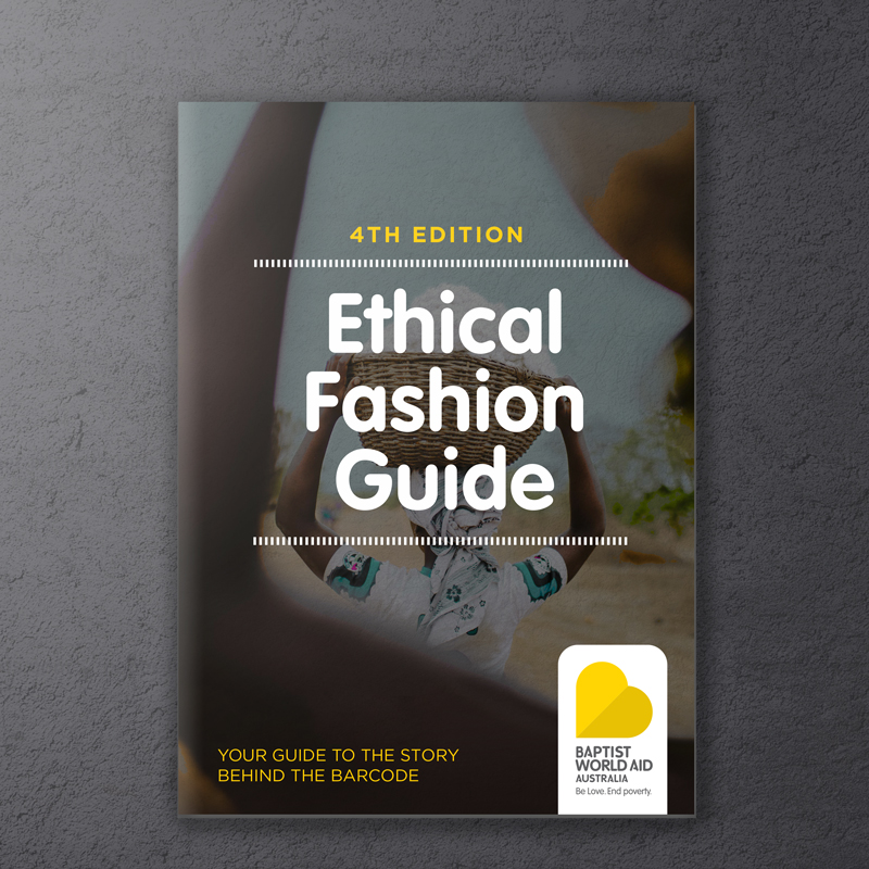Baptist World Aid Ethical Fashion Guide 2017
