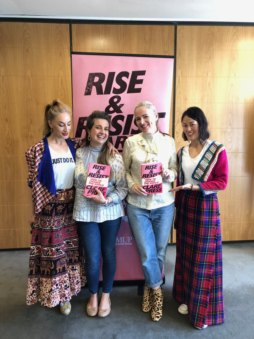 rise and resist clare press book launch