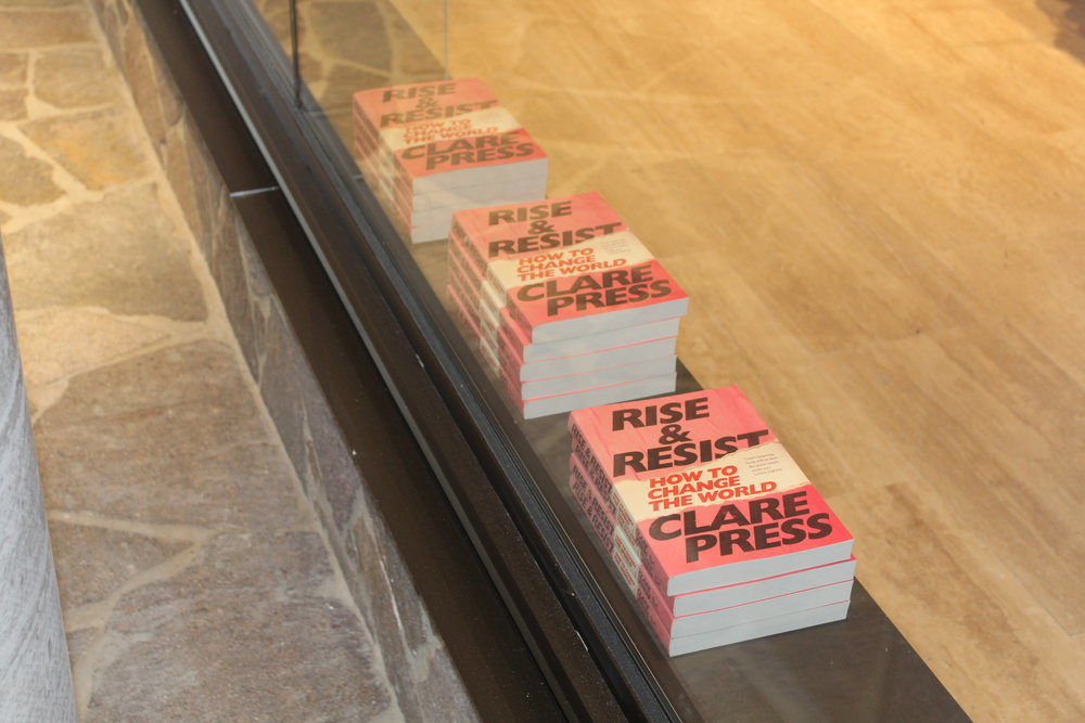 rise and resist clare press afc curated