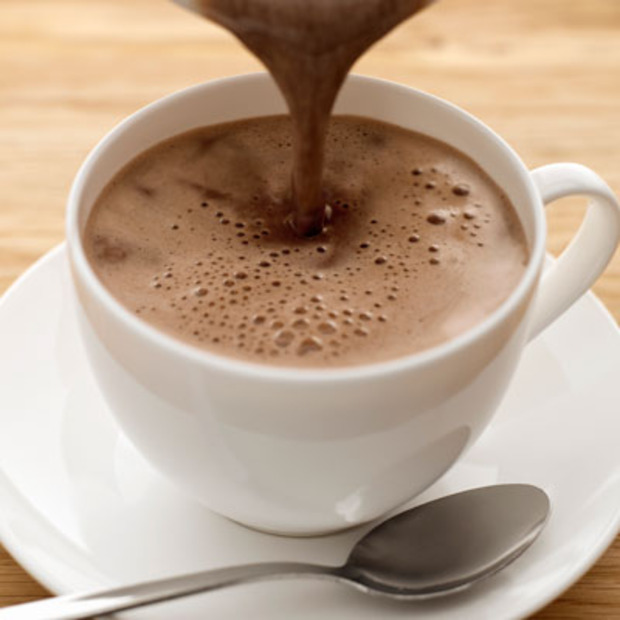a perfect cup of homemade Hot Chocolate.