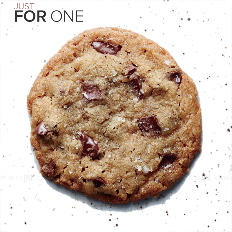 The perfect chocolate chip cookie for one - you could always make two if you want to share