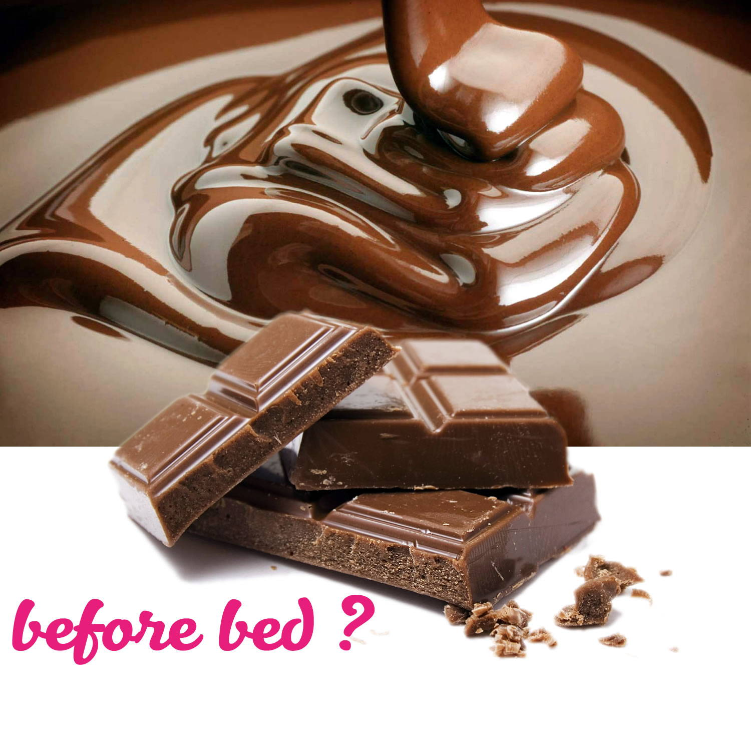 Is it possible to eat chocolate 22