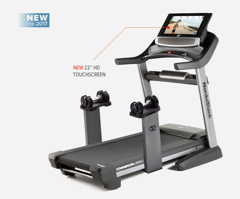 Nordictrack Commercial 2950 Treadmill with 22 HD inch Touch screen