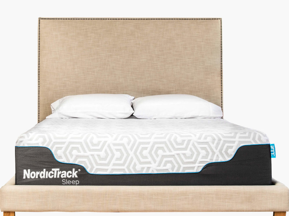 NordicTrack Sleep incorporates a hybrid mattress and the iFit Sleep Coach and sensors to provide a system to improve your sleep.