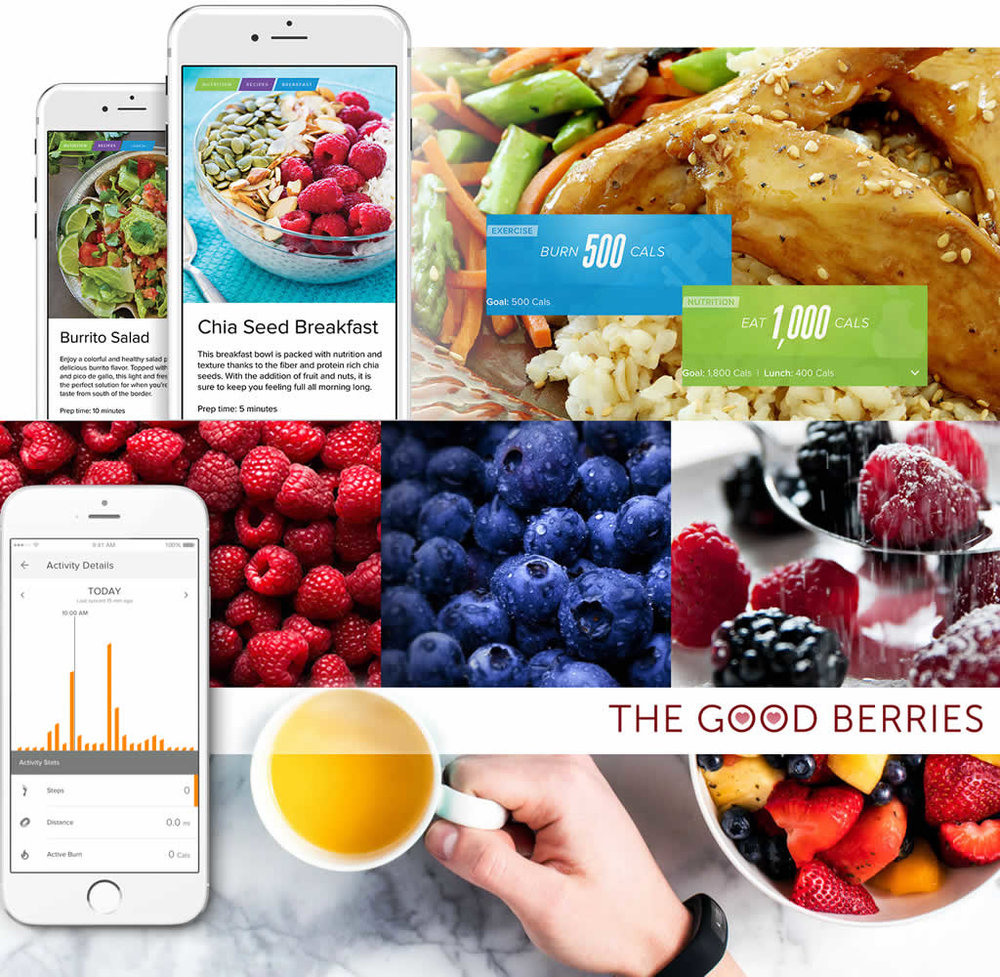 Nutrition is one of the pillars and iFit Coach provides you customized meals plans with calorie and activity tracking.