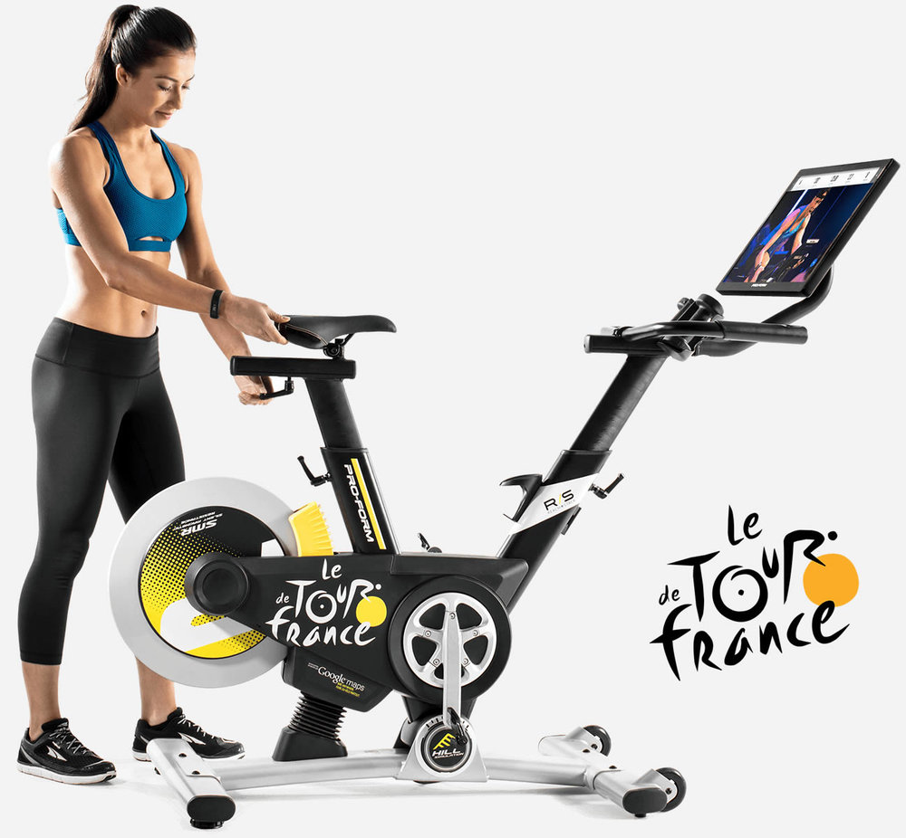 The ProForm Studio Bike Pro is a great addition to a fitness program, especially with the inclusion of iFit Coach over 800 workouts,  recipes and fitness recommendations.