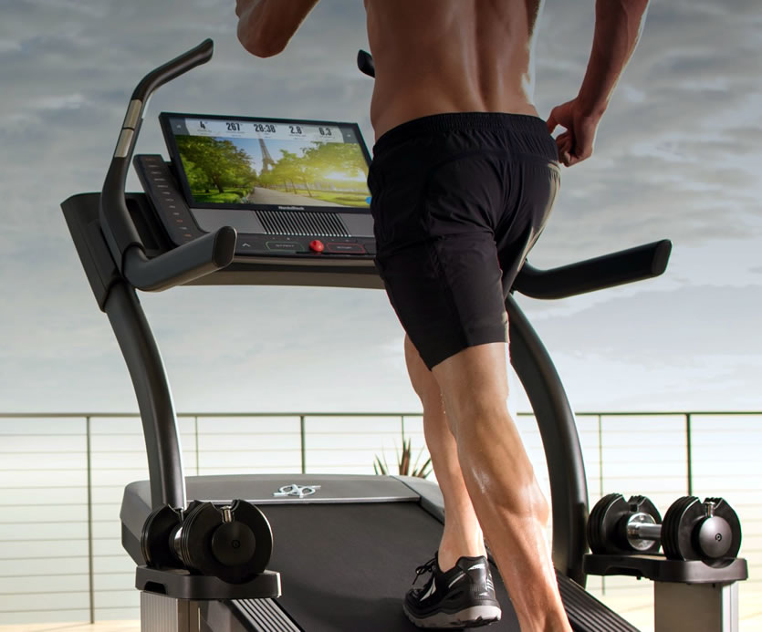 NordicTrack's X22i incline Trainer - is a calorie burning workout machine. With an amazing 40% incline.