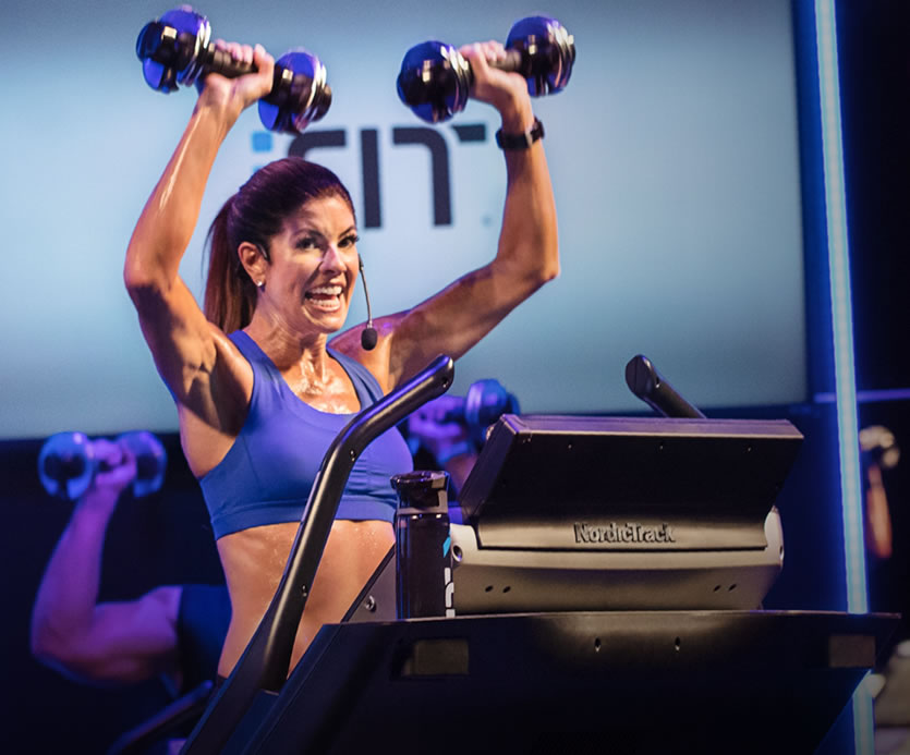 WITH  iFIT COACH  YOU HAVE ACCESS TO STUDIO CLASSES STREAMED TO X22i' DISPLAY & CROSS-TRAINING WORK OUTS TO ADD STRENGTH TO YOUR CORE