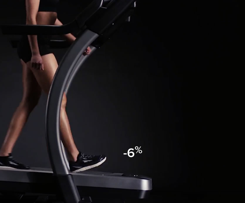 THE x22iI HAS A 40% INCLINE THAT BURNS 5 TIMES THE CALORIES IN THE SAME TIME