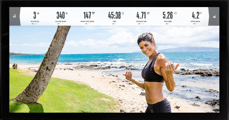 Your can travel the world while you work out with your personal trainer on iFit Coach Plus