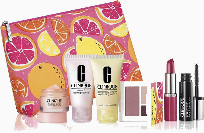 Customize your FREE 7-Pc. gift with any $28 Clinique purchase!