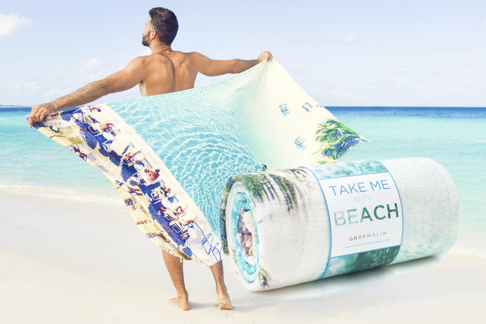Over Sized Beach Towels -