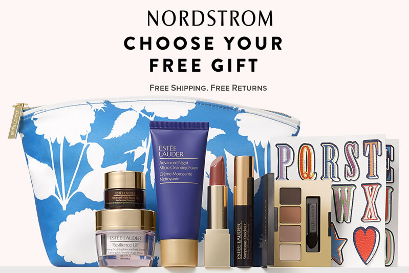 FREE Gift with any Estee Lauder Purchase @Nordstrom