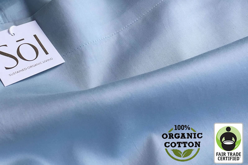 save on 100 organic cotton sheets from sol organix