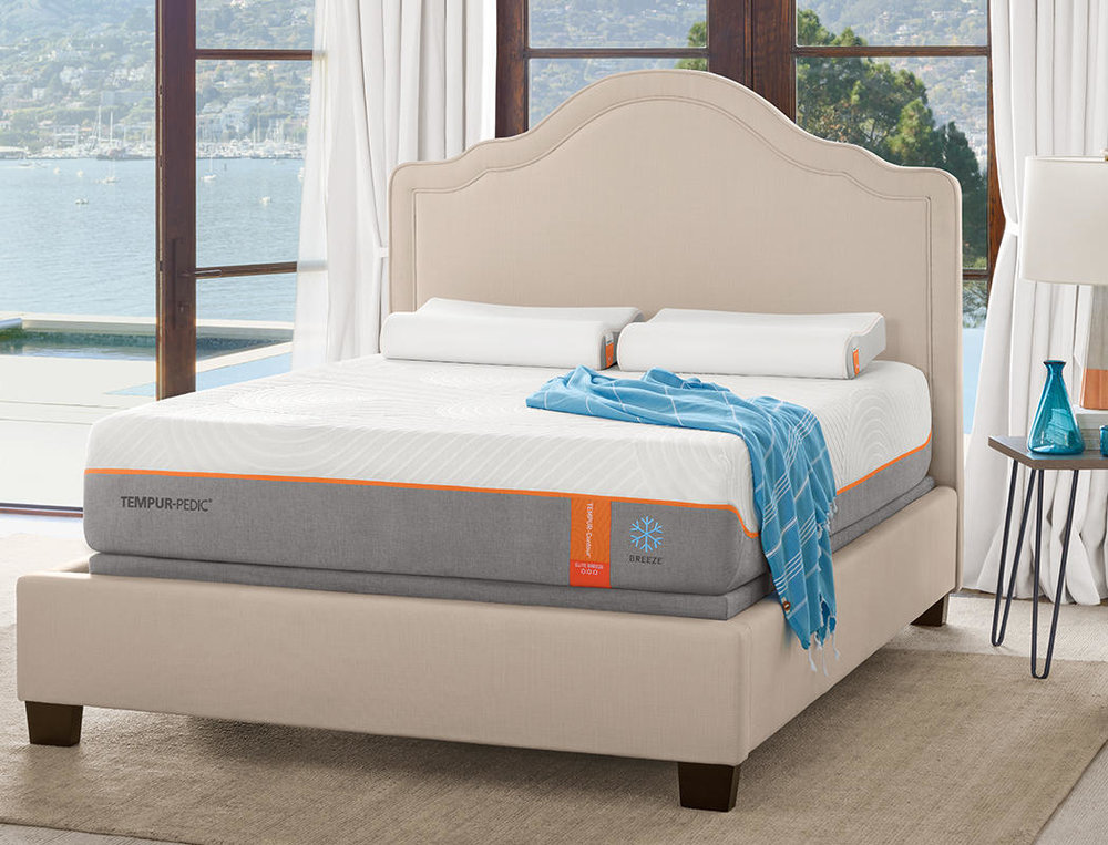 The Rhapsody Luxe mattress helps to reduce motion transfer and relieves pressure points so you sleep better.
