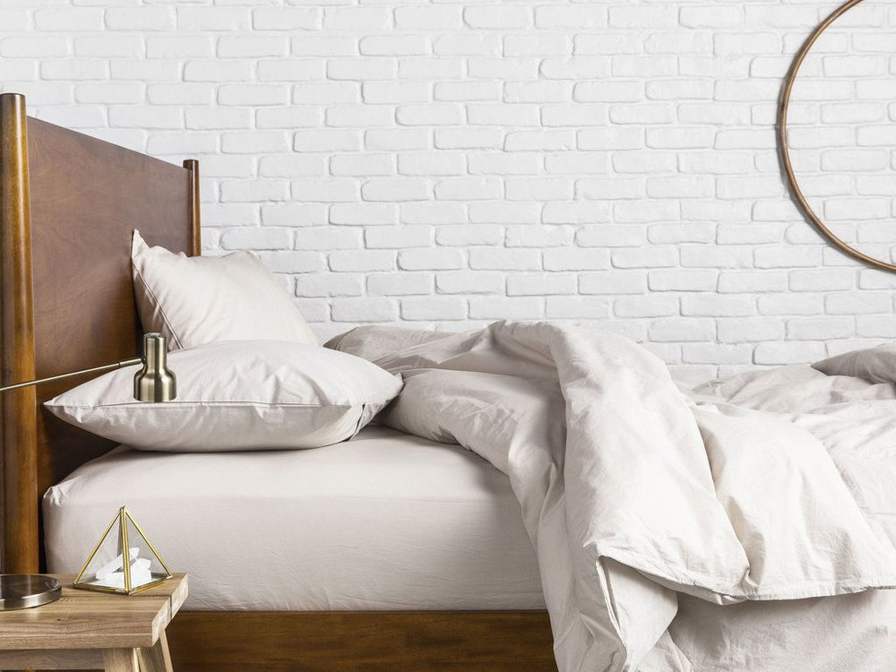 PARACHUTE SHEETS ARE MADE FROM LONG STAPLE EGYPTIAN COTTON AND STAY COOL