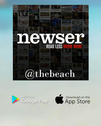 NEWSER- READ LESS KNOW MOREAND DOWNLOAD THIS AWESOME NEWS APP