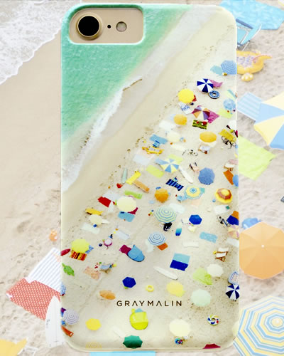 Beach  iPhone Cases  by Gray Malin