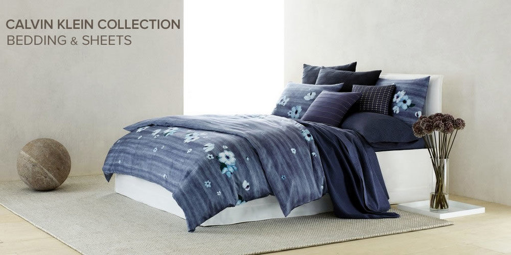 MACY'S OFFERS A SELECTION OF CALVIN KLEIN BEDDING FOR CONTEMPORARY LOOK