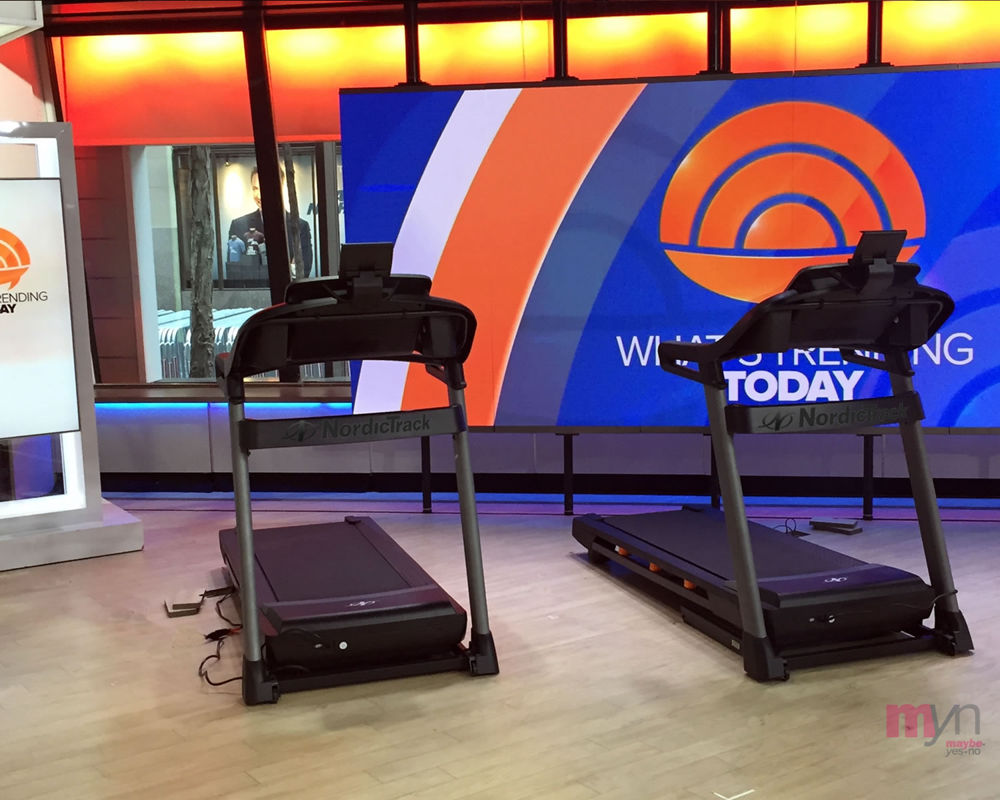 TODAY SHOW SETTING-UP -