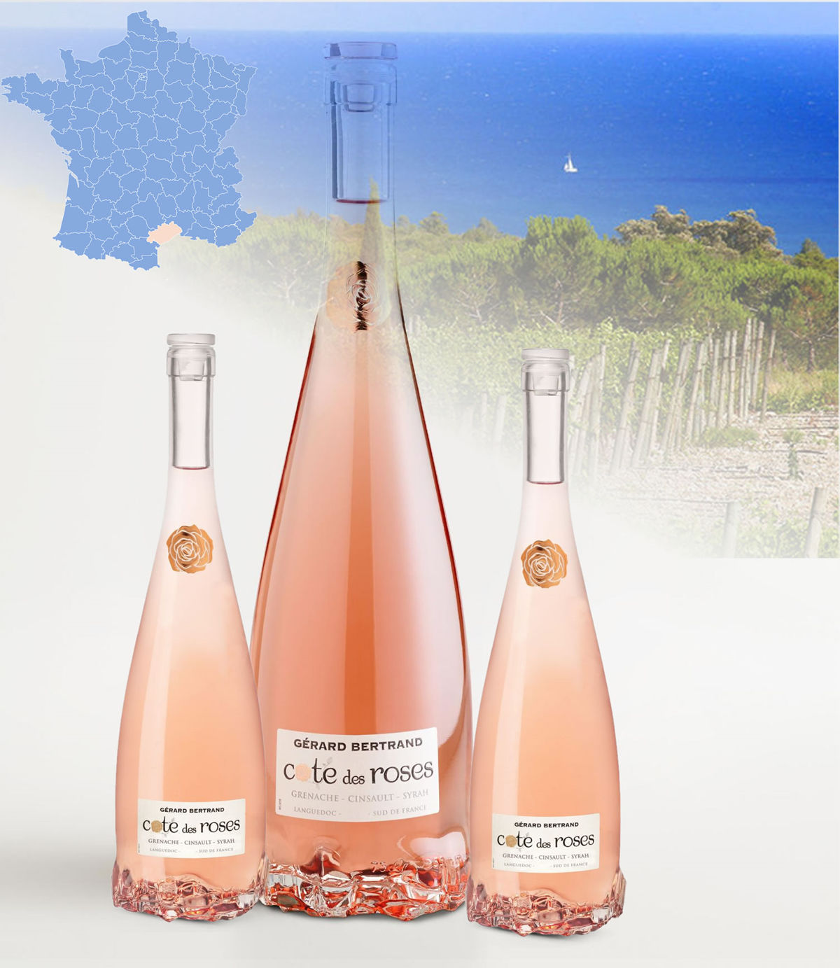 Gerard Bertrand 2016 C 244 Te Des Roses Ros 233 Maybe Yes No