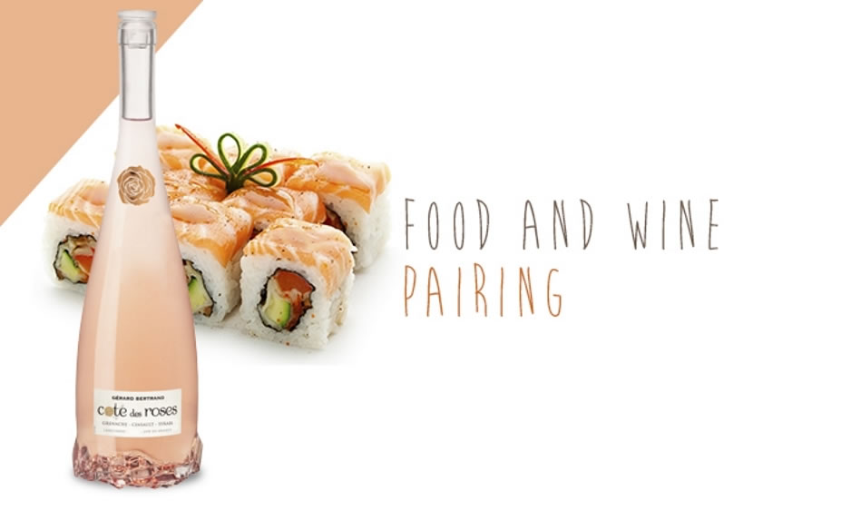 THE COTE DES ROSES ROSÉ IS PERFECT FOR ALL YOUR SUSHI NIGHTS