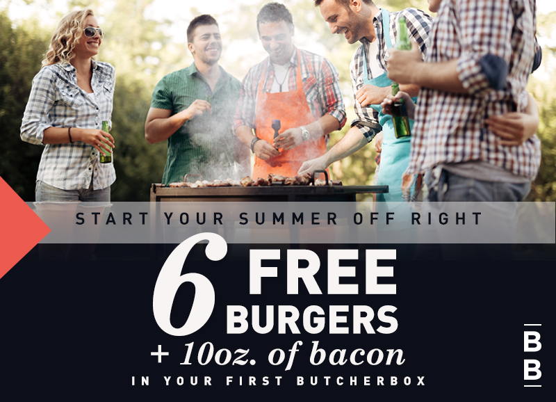 Try a Butcher Box and Get free burgers