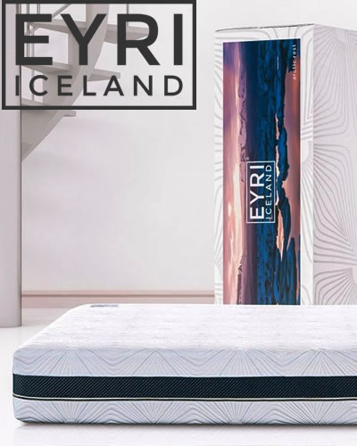 Icelandic Eyri mattress is a latex +memory foam mattress delivered to your door. Amazing