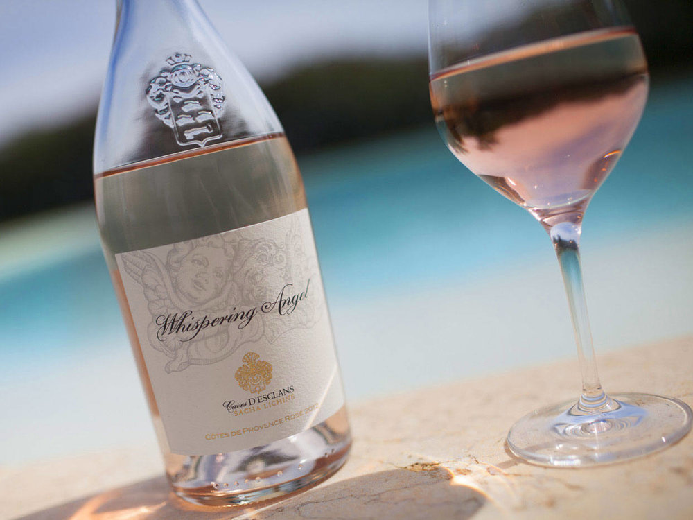 WHISPERING ANGEL ROSÉ    IS LEADING THE WAY IN ROSÉ WINES