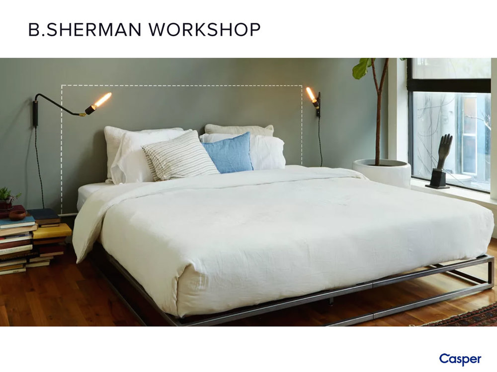 B. SHERMAN PLATFORM BED