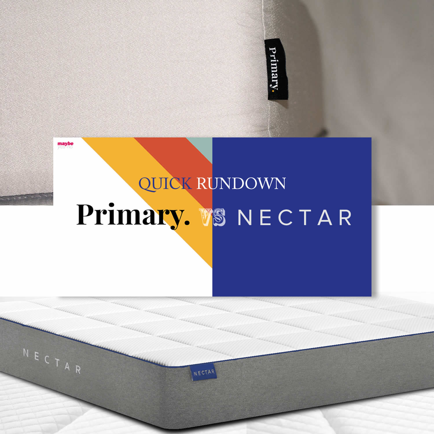 Primary vs. Nectar Comparison