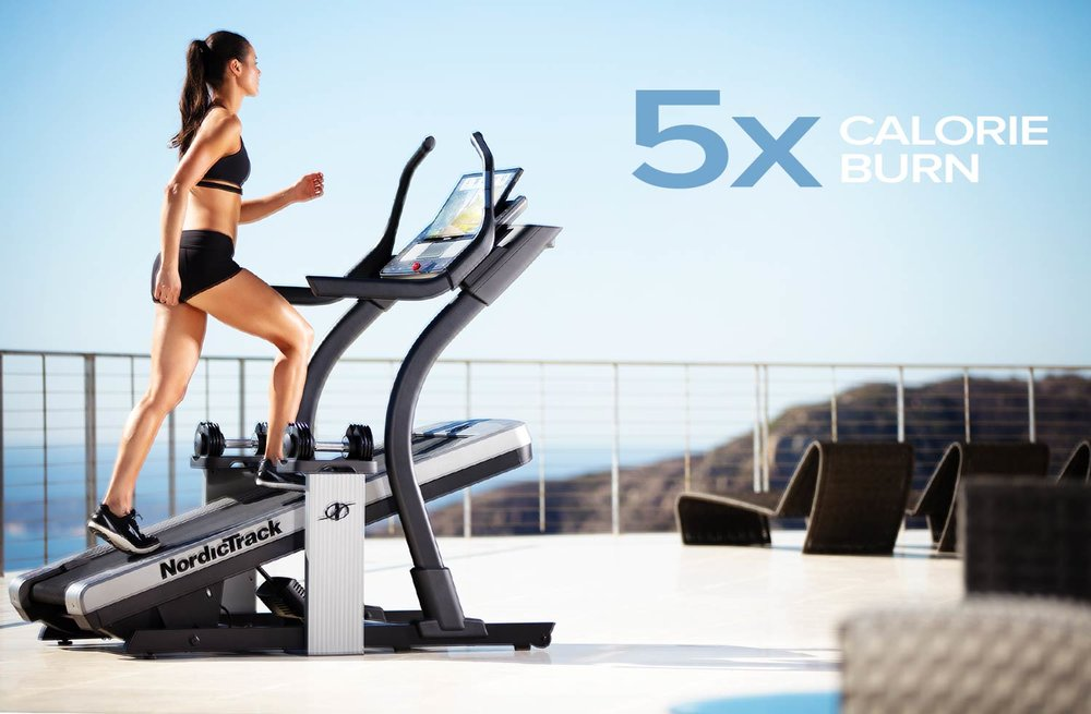 GET THE POWER OF THE INCLINE - GET FIT OR LOOSE WEIGHT FAST