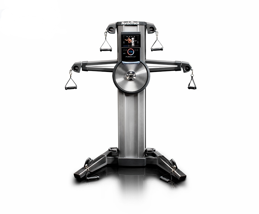 The new innovative Fusion CST from NordicTrack combines a cardio workout with strength building for an intense calorie burn in one piece of exercise equipment