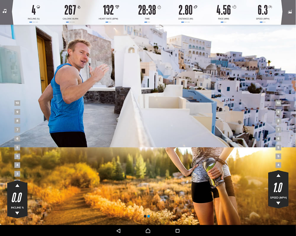 Why iFit Coach - Get access to a wide variety of LiveCast™ Studio Classes + Training sessions in spectacular destinations including New Zealand, Thailand, Italy & Peru to name some