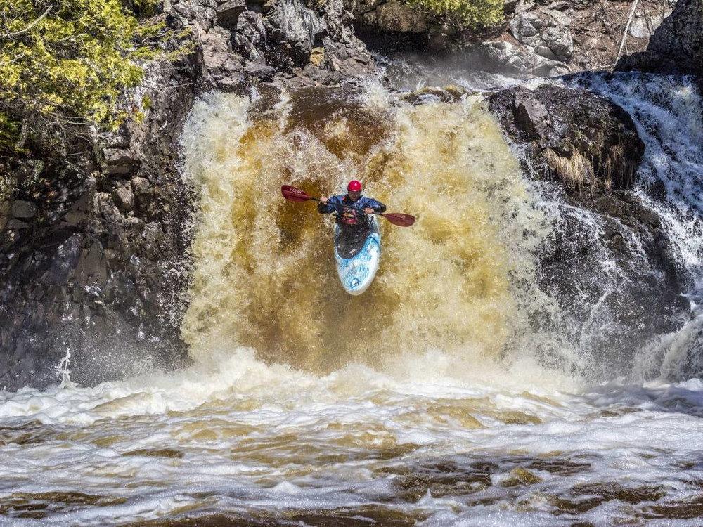 Makes a Great Kayak Drop