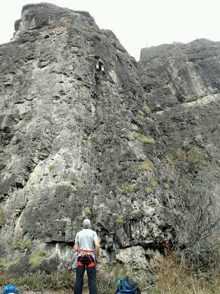 Some Rock Climbing