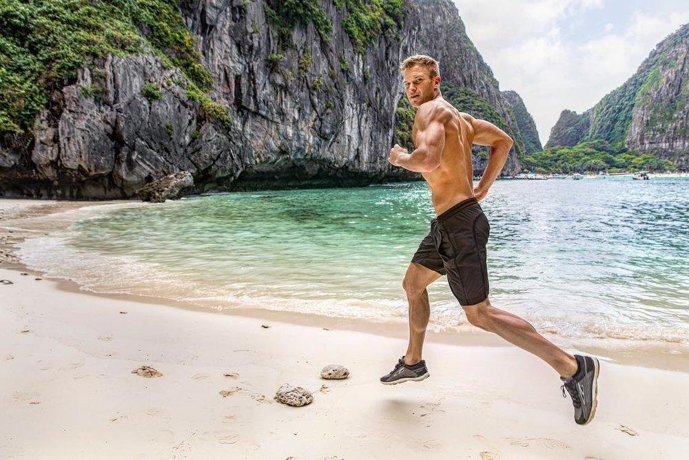 Thailand Beach Jog