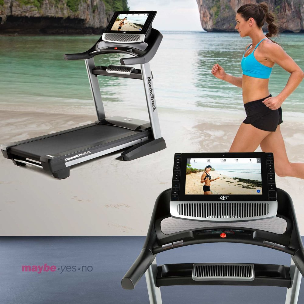12 MONTHS OF iFIT COACH IS INCLUDED WITH THE COMMERCIAL 2950 TREADMILL.  A $468 VALUE FOR ONE YEAR OF LIVE STUDIO CLASSES STREAMED TO THE WIDE 22 INCH TOUCHSCREEN DISPLAY