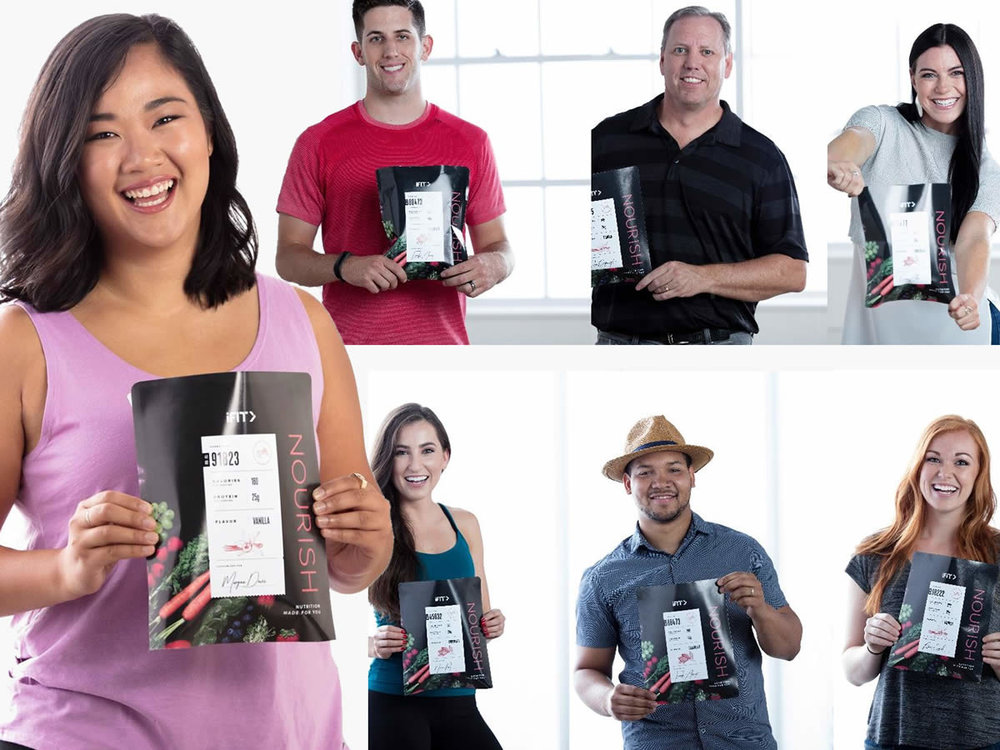 The Nourish shake is for everyone because it's personalized for you by you. Complete a simple online quiz . Enter your body type, dietary needs, exercise habits, & goals and your Nourish Shake formula is is made made just for your needs