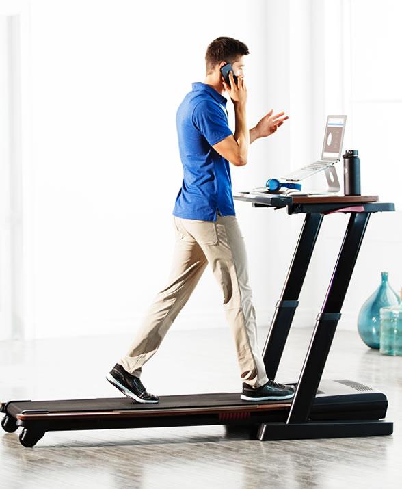 Treadmill Desk at Work