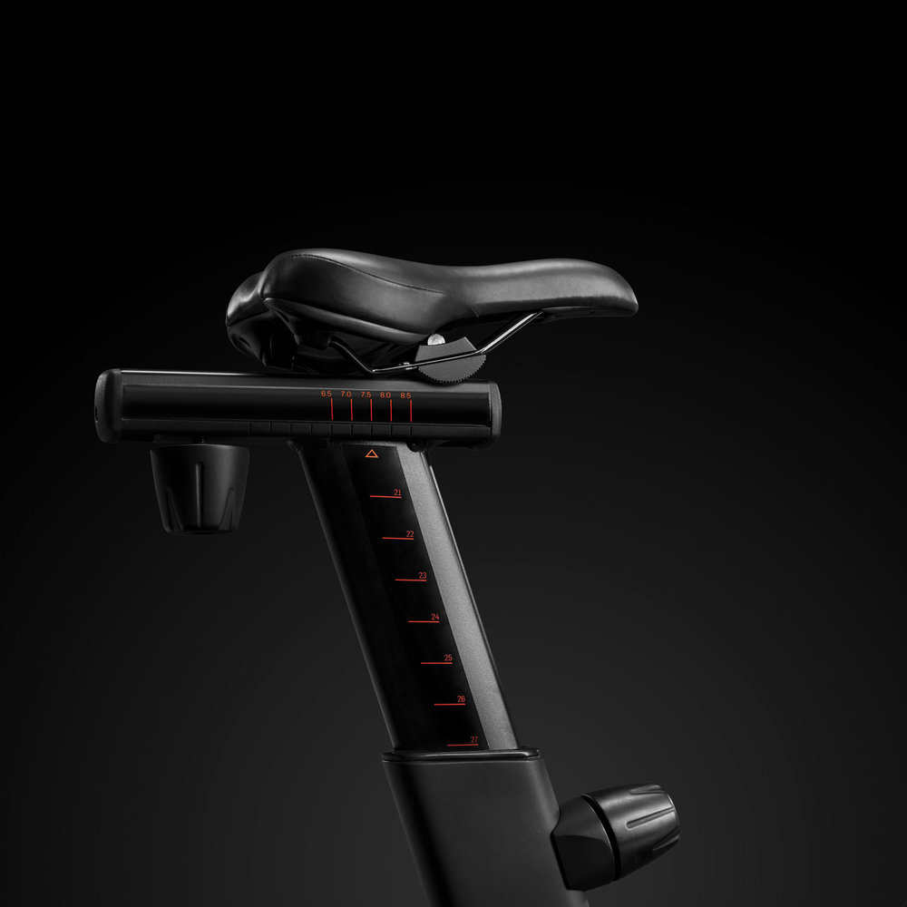 S22i Studio Bike sports an adjustable saddle