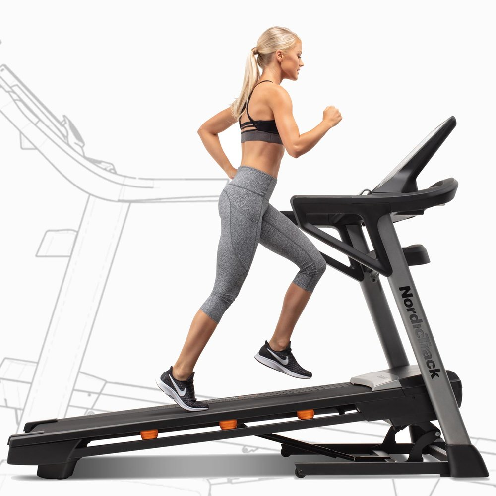 T 8.5 S Treadmill from Nordictrack  will support everyday light to heavy running, walking and jogging at an incline of up to 12%