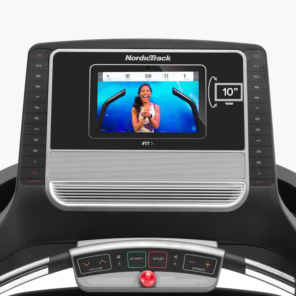 "T 8.5 S Treadmill - 10"" HD smart touchscreen"