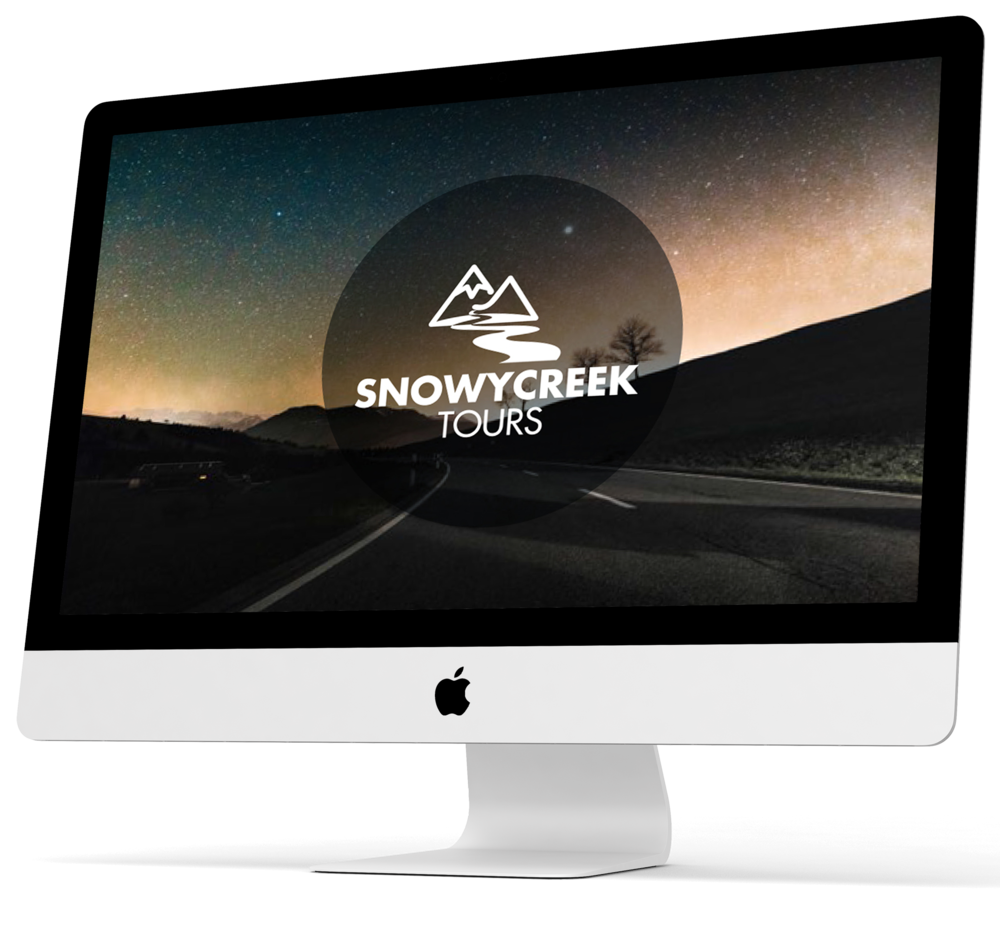 Snowy Creek Tours Brand Identity